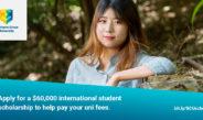 各位国际留学生请注意!价值$60,000澳元的学费减免